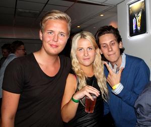 Kasper, Johanna, Fredrik.