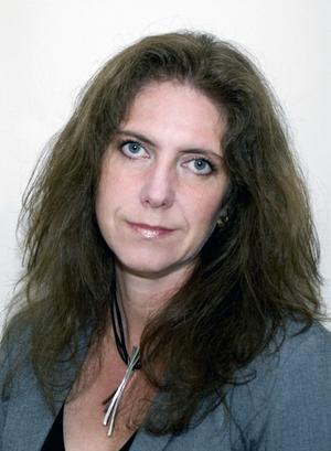 Maud Herkules har engagerat sig i fiberutbyggnaden i Bispgården, där hon själv driver företag.