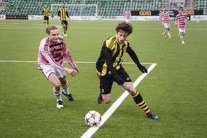 Jakob Melander var pigg på sin kant och stod bland annat för ett av målen.
