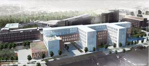 Det vinnande bidraget i arkitekttävlingen om USÖ:s nya hus.