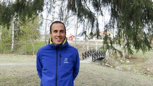 Lars Ljung har lagt skidorna på hyllan. Under våren och framtiden jobbar han numera heltid hos SOK.