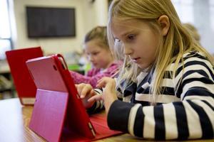 Barns användning av e-böcker oroar föräldrar