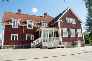 Ankarsviks skola som efter att ha drabbats av hussvamp i vår, nu är klar för skolstart.