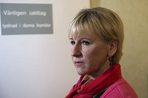 Utrikesminister Margot Wallström har inte avgått.