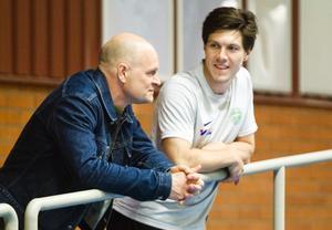 Per Fosshaug (teknisk rådgivare) och Ted Bergström.