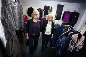 Maria Sundelius Back och Monica Erikson har jobbat tillsammans på Moniques i 35 år.