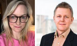 Sofia Gustafsson och Mats Löventeg är deklarationsexperter vid Skatteverket.