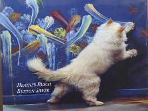 """Målarkatt. På omslaget till boken """"Why Cats Paint"""" syns Max, en energisk och färgglad expressionist."""