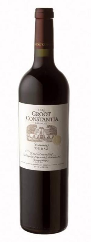 Groot Constantia Shiraz 2006, Sydafrika, 136 kr, varunummer: 99343.