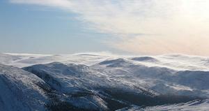 Bilden på fjället är tagen i Bydalen när jag var och åkte slalomskidor.