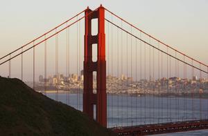 San Francisco Skyline from Marin Headlands.   Foto: Emeli Emanuelson