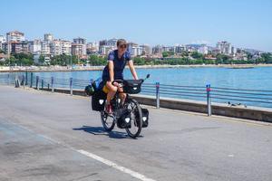Fredrika Ek passerade Istanbul för några dagar sedan.