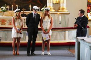 Linn Danielsson, Anders Wiklund och Hanna Ålsund Myhr fick stipendium.