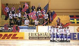 IFK Kungälv i Edsbyn under säsongen som gick.