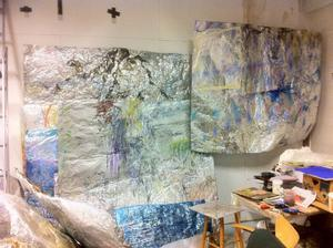 I kväll startar konstskolans satsning på konstnärssamtal på Gamla Tingshuset.