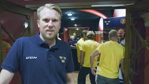 Johan Andersson har en viktig roll för Tre Kronor.