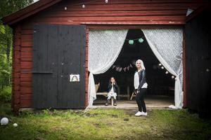 """Logen är en perfekt plats för fest och kalas. """"Senast i helgen hade vi barnkalas här"""", säger Helena Tjärnström."""