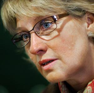 Maria Söderberg (C) vill sända en tydlig signal till de provborrande företagen.