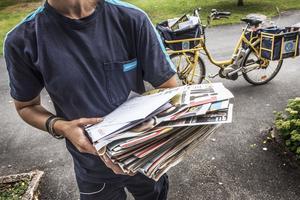 På senare tid har det uppdagat sig mycket problem med postudelningen i Sandviken. Det är ingen överraskning för fackliga Seko som larmat om dåliga förhållanden för brevbärarna vid flera tillfällen. Arkivbild.