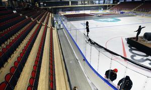 Östersund Arena ska stå värd för Tre Kronor och en VM-förberedande match mot Norge.