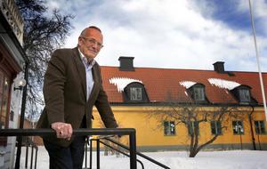 Foto: Anders Sjöberg Kjell Pihlgren som utsetts till ny ordförande för Roslagsmuseet.