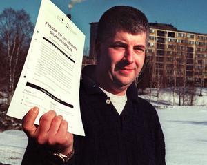 Våga säga nej till barnen, uppmanar Johannes Dock, folkhälsoplanerare vid landstinget Västernorrland.