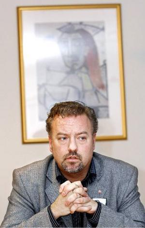 Robert Uitto påpekar vikten av en läkarutbildning till Öster-sund.  Foto: Henrik Flygare