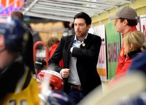 Jeremy Colliton under tiden i Mora, nu är han huvudtränare för Chicago Blackhawks i NHL.