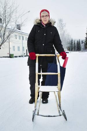 Karin Enmark, KälarnePå julafton jobbar Karin med att laga mat till äldreomsorgen.– De andra dagarna ska jag vara med mina barnbarn.