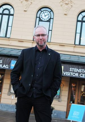 Mats Ågebrant har ett finger i det mesta som händer på Näringslivsbolaget i Sundsvall.