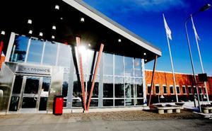 Företagandet ska blomstra i före detta Flextronics lokaler i Odenskog. Nu har den nya ägaren fullt upp med att ragga hyresgäster.  Foto: Henrik Flygare