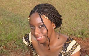 Ngozi Adichie har ett viktigt ärende. Foto: Okey Adichie