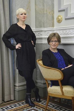 Ester och Ann-Christine Roxberg.
