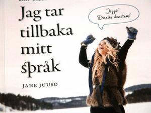Så här ser bokens framsida ut. Författare är Jane Juuso.