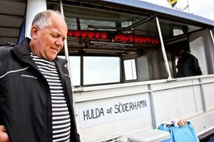 Stefan Forell är väldigt nöjd med turen. Det är bara badvattnet som skulle kunna vara varmare, tycker han.