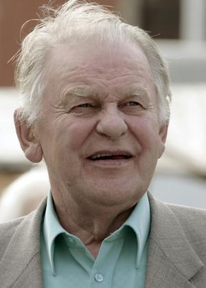 Torbjörn Fälldin (C), före detta statsminister.
