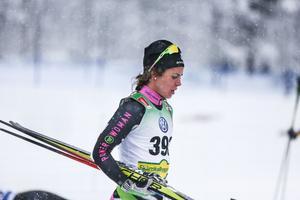 Anna Haag slutade fyra i Bruksvallarnas första lopp på fredagen - ett styrkebesked inför säsongen.