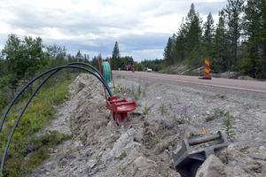 Byarna i norra Dalarna stämmer inte med jordbruksverkets kartor och nu försenas utbyggnaden av fiber.