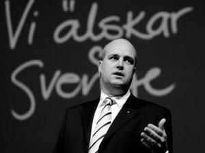 I går inleddes moderaternas partistämma i Örebro med ett tal av Fredrik Reinfeldt.