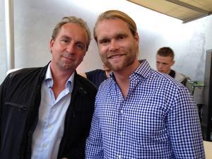 Gävleborgarna Stefan Åsberg och Niclas Berglund från SVT.