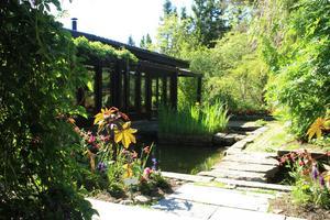 Grundtanken är att trädgård och natur ska möta varandra.