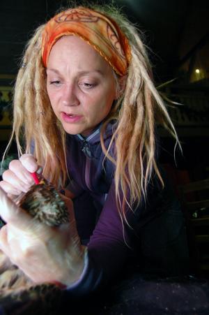 Bos Maria Håkansson djuransvarig på Tomteland deltog i kursen och det var hon som tipsade om att förlägga den till Tomteland.