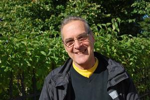 Dan Driesel lever för kärleken till livet. Han fyller 60 år på lördag.
