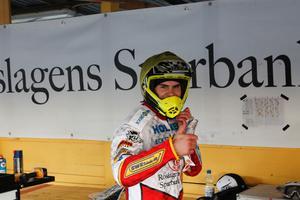 Rospiggsföraren Kim Nilsson är wild card-förare i kvällens GP på Friends arena.