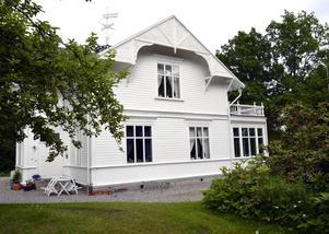 Villa Kaptensudden byggdes av familjen Cornell i slutet av 1800-talet.