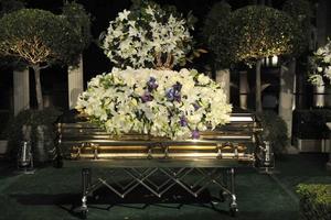 Begravd. Michael Jackson avled den 25 juni, 50 år gammal. Han har nu fått sin sista vila vid Forest Lawn Memorial Park i Los Angeles.