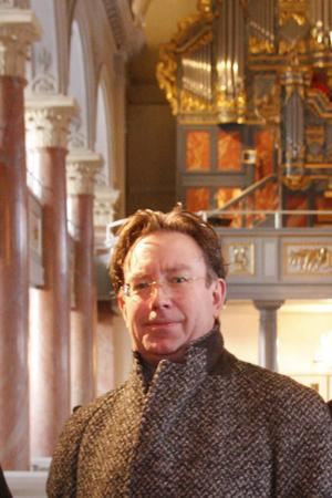 Lars G Fredriksson är ny domkyrkoorganist i Härnösands domkyrka.