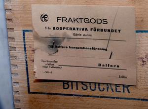 Till och med Gävle, varifrån Dalfors konsumtionsförening en gång fick sina varor per buss, är en avkrok.