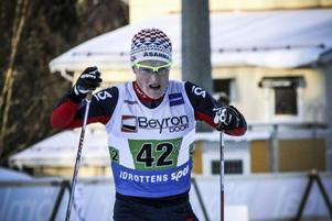 Jens Burman, Åsarna, svarade för en stark insats då han länge hängde med Daniel Richardsson på sin sträcka.