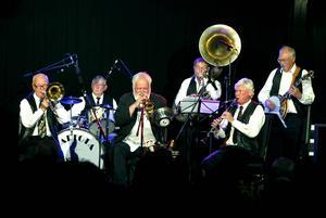 Barfota Jazzmen, från ett uppträdande för några år sedan.